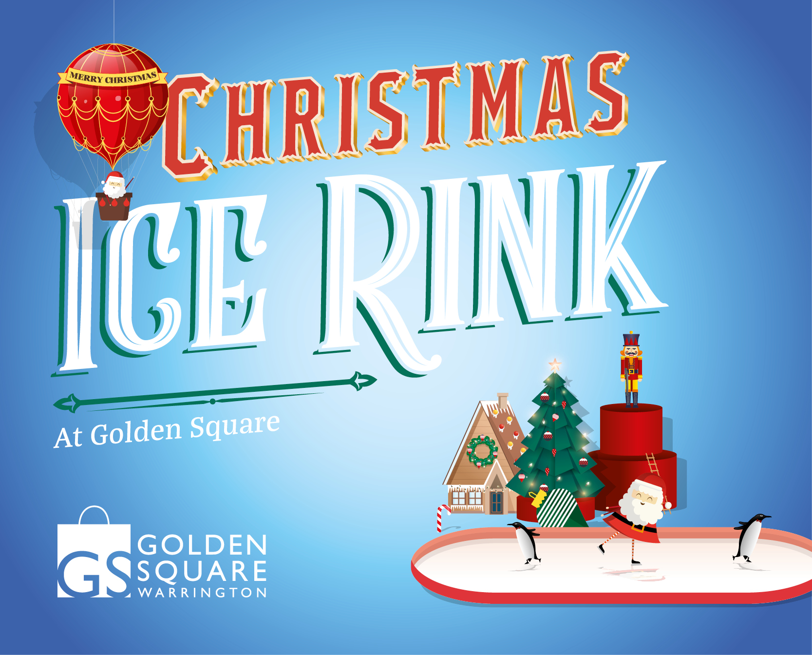Golden Square Christmas Ice Rink